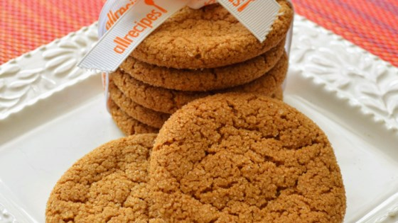 Photo of Crackle Top Molasses Cookies by Laurie