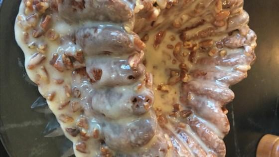 Photo of Pecan Praline Butter Crunch Cake by KAFE1