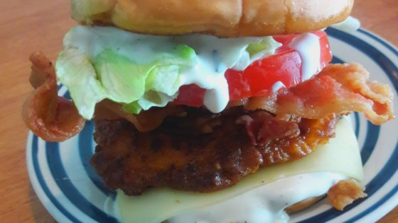 Photo of Two-Handed Crispy Fried Chicken Sandwiches by Judy in Delaware