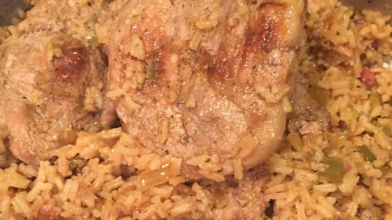 Photo of Pork Chops Over Rice by David Mears