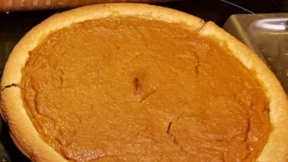 Photo of Creamy Pumpkin Pie with Ricotta Cheese by Kirsten