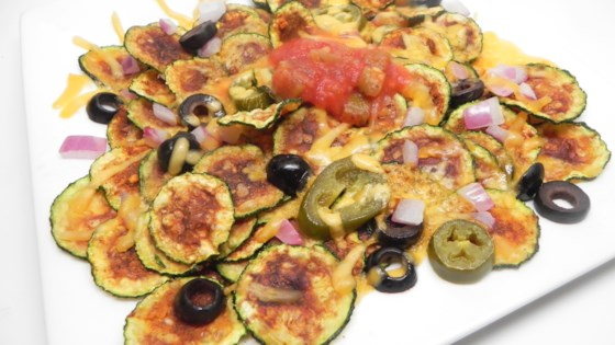 Photo of Zucchini Chip Nachos by Soup Loving Nicole