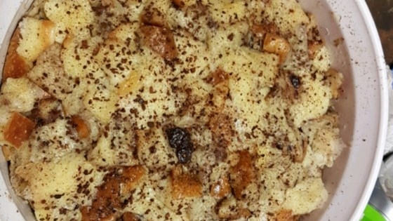 Photo of Microwave Raisin Bread Pudding by CHRISW