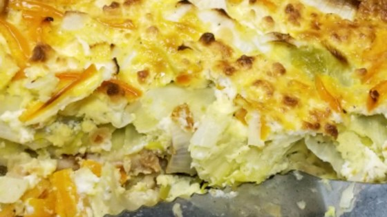 Photo of Goat Cheese and Leek Quiche by Allyson