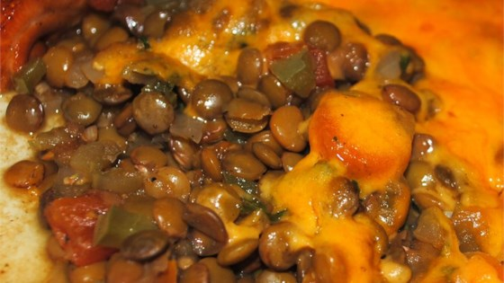 Photo of Baked Lentils with Cheese by Pamela  Ulrich