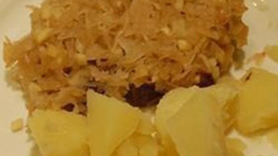 Photo of Baked Pork Chops with Sauerkraut by mannkochtgut