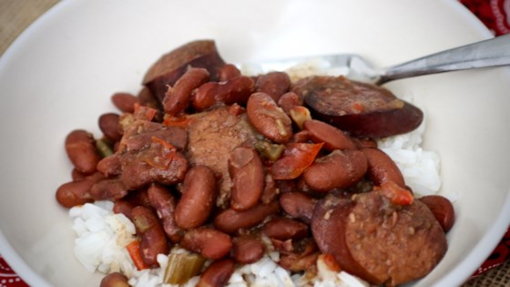 Photo of Instant Pot® Red Beans and Rice by OleMSRebel