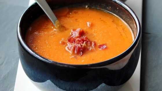 Photo of Roasted Carrot and Tahini Soup by France C