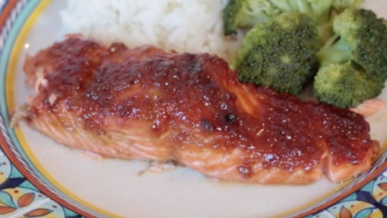 Photo of Ginger-Teriyaki Glazed Salmon by Dads That Cook