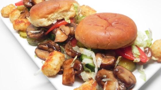 Photo of Vegetarian Mushroom Sliders  by Alex Mei