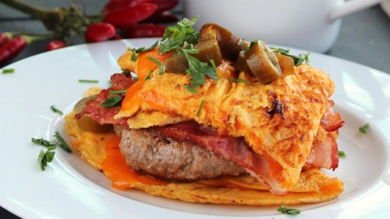 Photo of Bacon Cheeseburger Omelet by bd.weld