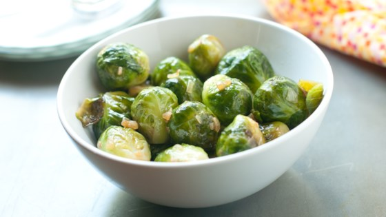 Photo of Instant Pot® Roasted Brussels Sprouts by Fioa