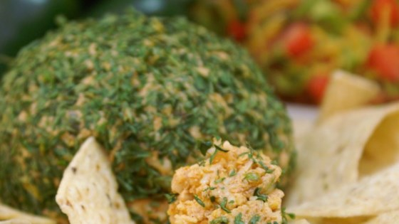 Photo of Tailgating Spicy Taco Cheese Ball by Melissa Goff