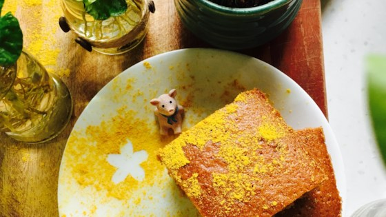 Chinese Five-Spice Ginger Cake Recipe