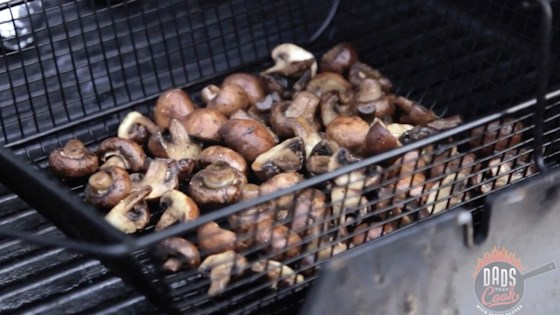 Photo of Grilled Mushrooms by Dads That Cook