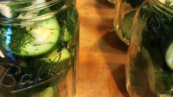 Photo of Refrigerator Dill Pickles by Tammy Gulgren