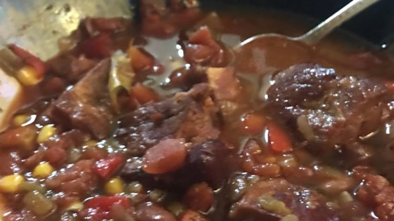 Photo of Tender Pork Stew with Beans by Sara Myers Gross