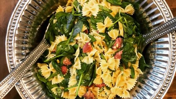 Photo of Spinach Basil Pasta Salad by _jennifer