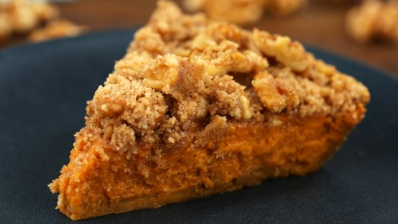 Photo of Harvest Walnut Pumpkin Pie by Allrecipes