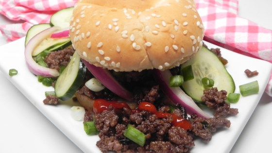 Sloppy Bulgogi Recipe