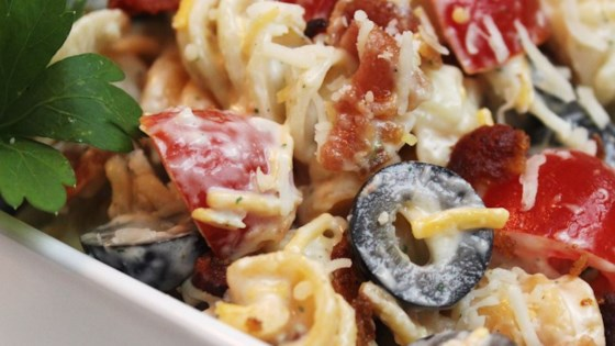 Photo of Bacon Ranch Pasta Salad by Wilemon
