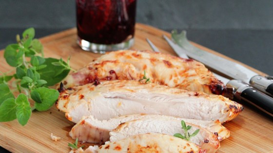 Photo of Olive-Brined Air-Fryer Turkey Breast by Buckwheat Queen