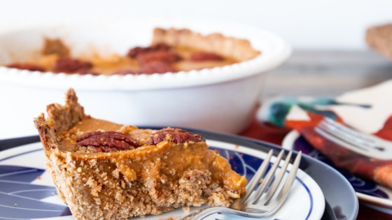 Photo of Pumpkin Tart With Pecan Crust by Jen