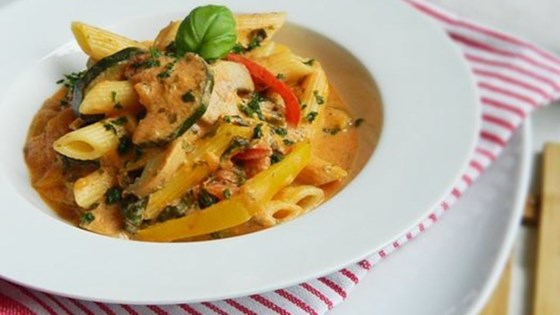 Photo of Creamy Vegetarian Pasta Sauce by Olaahmed