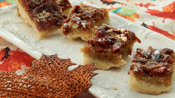 Photo of Butter Tart Shortbread Bars by BISSETTA