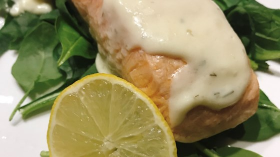 Meyer Lemon Cream Sauce for Salmon Recipe