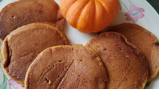 Photo of Easy Pumpkin Pancakes by MeriB