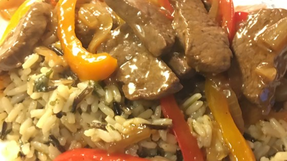 Photo of Venison Steak with Peppers and Onions by Barbara Z.