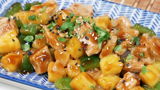 Photo of ActiFried Chinese Pineapple Pork by T-fal Canada
