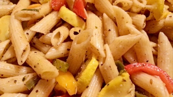 Photo of Penne Pasta with Peppers by Donna Lasater