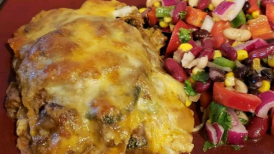 Photo of Baked Beef Chiles Rellenos Casserole by EmmLee