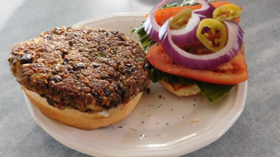 Photo of Quinoa Black Bean Burgers by DownHomeCitySisters.com