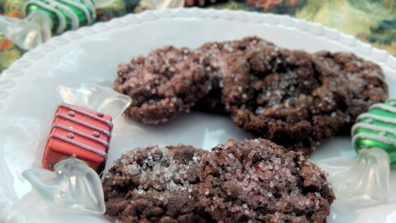 Photo of Gluten-Free Double Chocolate Peppermint Cookies by Duckie