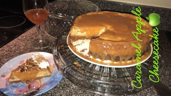 Photo of Fresh Caramel Apple Cheesecake by Tia the Baker