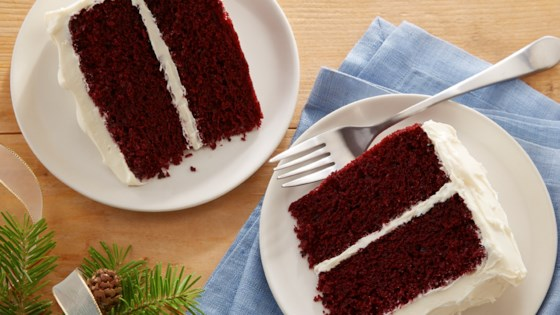 Photo of Classic Waldorf Red Cake by Almond Breeze