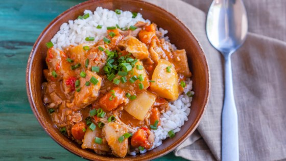 Slow Cooker Chicken Massaman Curry Recipe