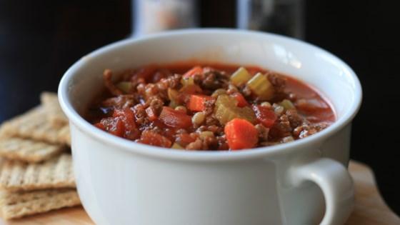 Instant Pot® Hamburger Soup Recipe