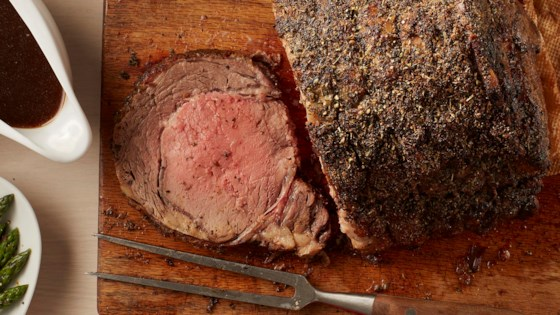 Photo of Herbed Prime Rib by McCormick® Holiday Cooking