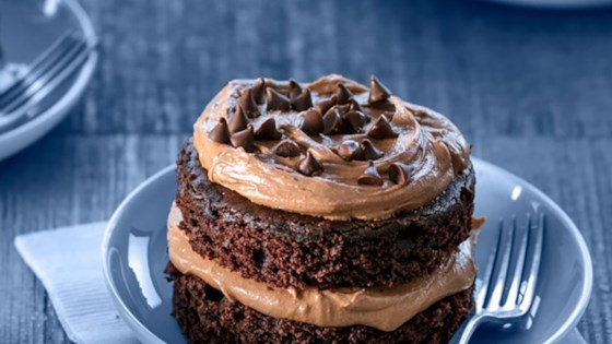 Ghirardelli Mini Bittersweet Chocolate Cakes Recipe