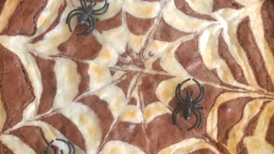 Photo of Spiderweb Brownies by Butterfinger