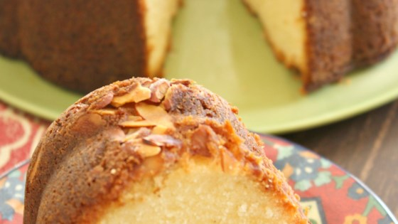 Amaretto Bundt® Cake with Bourbon Soak Recipe
