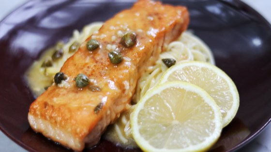Photo of Quick Salmon Piccata by fabeverydayblog