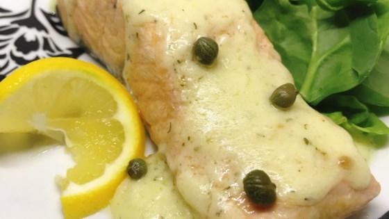 Instant Pot® Salmon Piccata Recipe