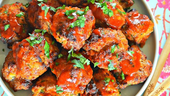 Photo of Chicken Sriracha Meatballs by bd.weld