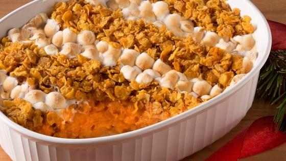 Photo of Marshmallow & Cornflake Sweet Potato Casserole by Bruce's Yams