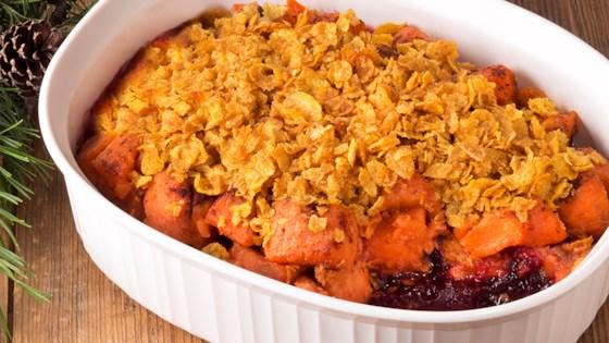 Cranberry Sweet Potato Casserole Recipe